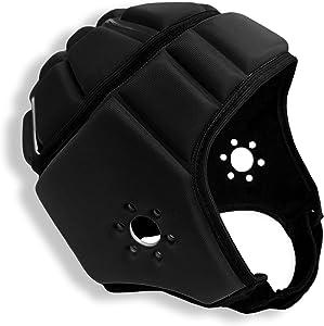 EliteTek Soft Padded Headgear - 7v7 Soft Shell - Rugby - Flag Football Helmet