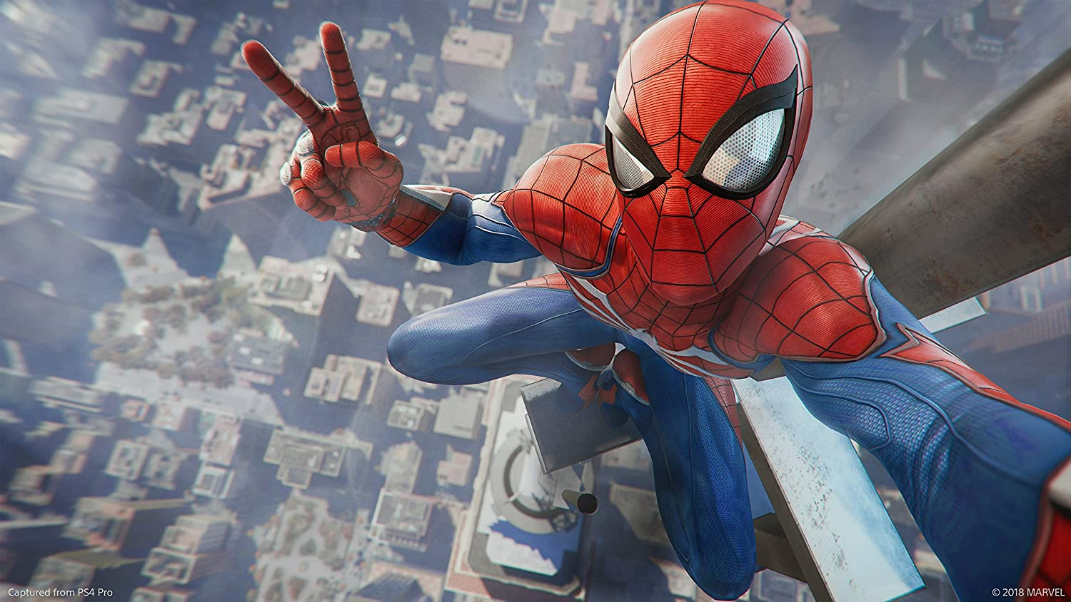 Marvel S Spider Man Ps4 Amazon Co Uk Pc Video Games