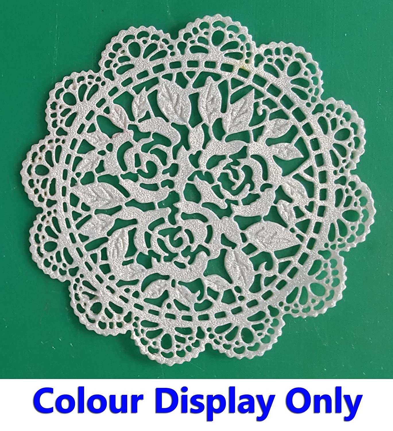 Free First Class Postage Colours Made from mat 19 1 x Simply Heaven Edible Ready Made Cake Lace 40 Baby Blue