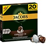 Jacobs Kapseln Espresso Intenso, Intensität 10, Nespresso®* kompatible Kaffeekapseln, 10er Pack (10 x 104 g)