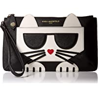 Karl Lagerfeld Paris womens Peeking Kitty Lg Wristlet