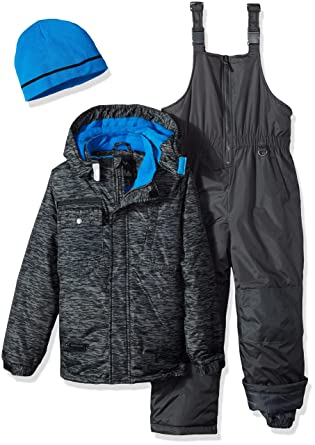 d2215aab71f5 Amazon.com  iXtreme Boys Tonal Print Snowsuit W Gaiter  Clothing