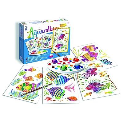 Sentosphère Aquarellum Junior Aquarium Painting Set: Toys & Games