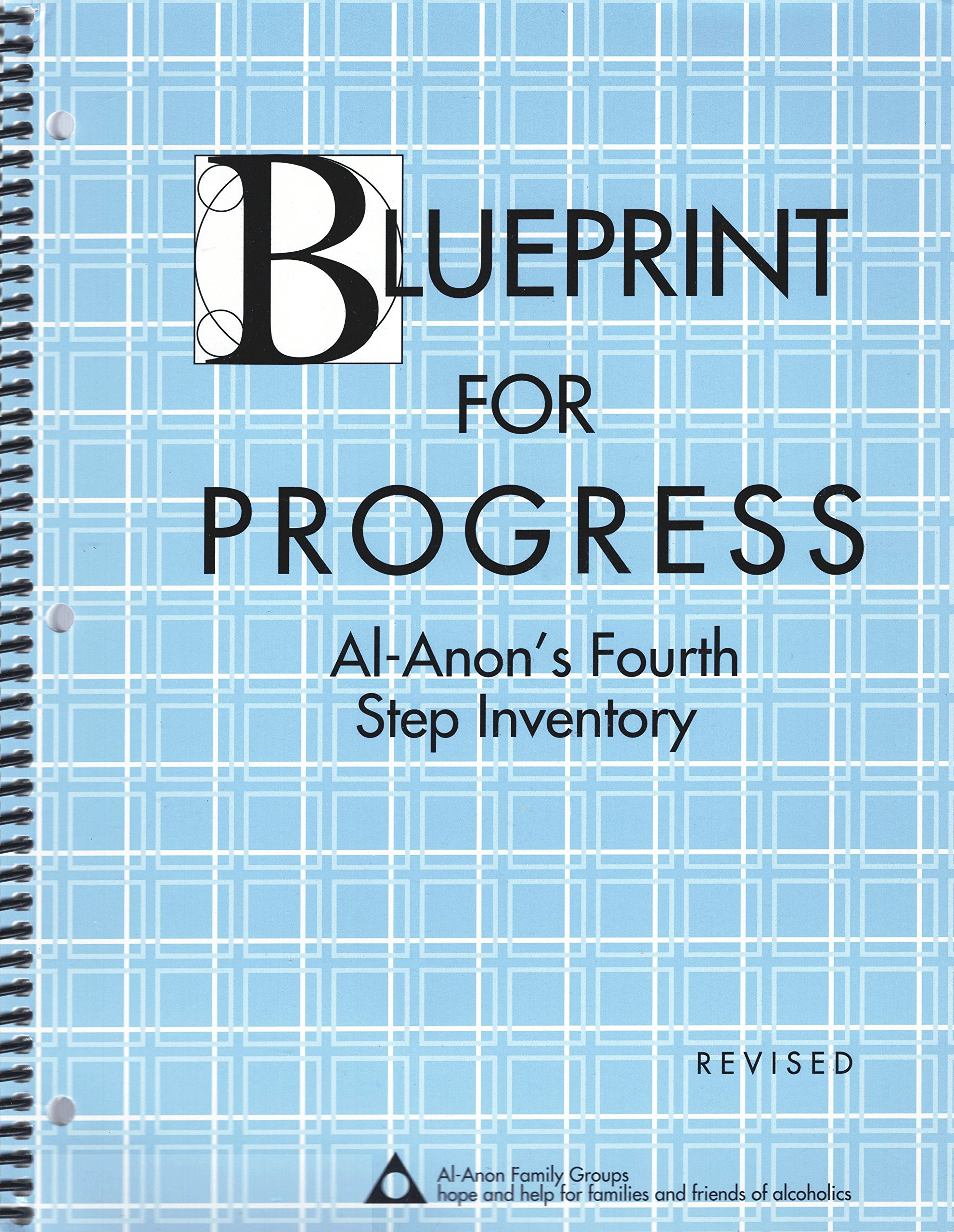 Worksheets Al Anon 12 Steps Worksheets blueprint for progress al anons fourth step inventory amazon co uk 9780910034425 books