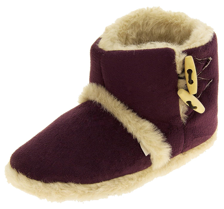 Femmes Coolers Coolers chaude à hiver faux fourrure doublé bottes à Prune glissière Prune f077ed4 - fast-weightloss-diet.space