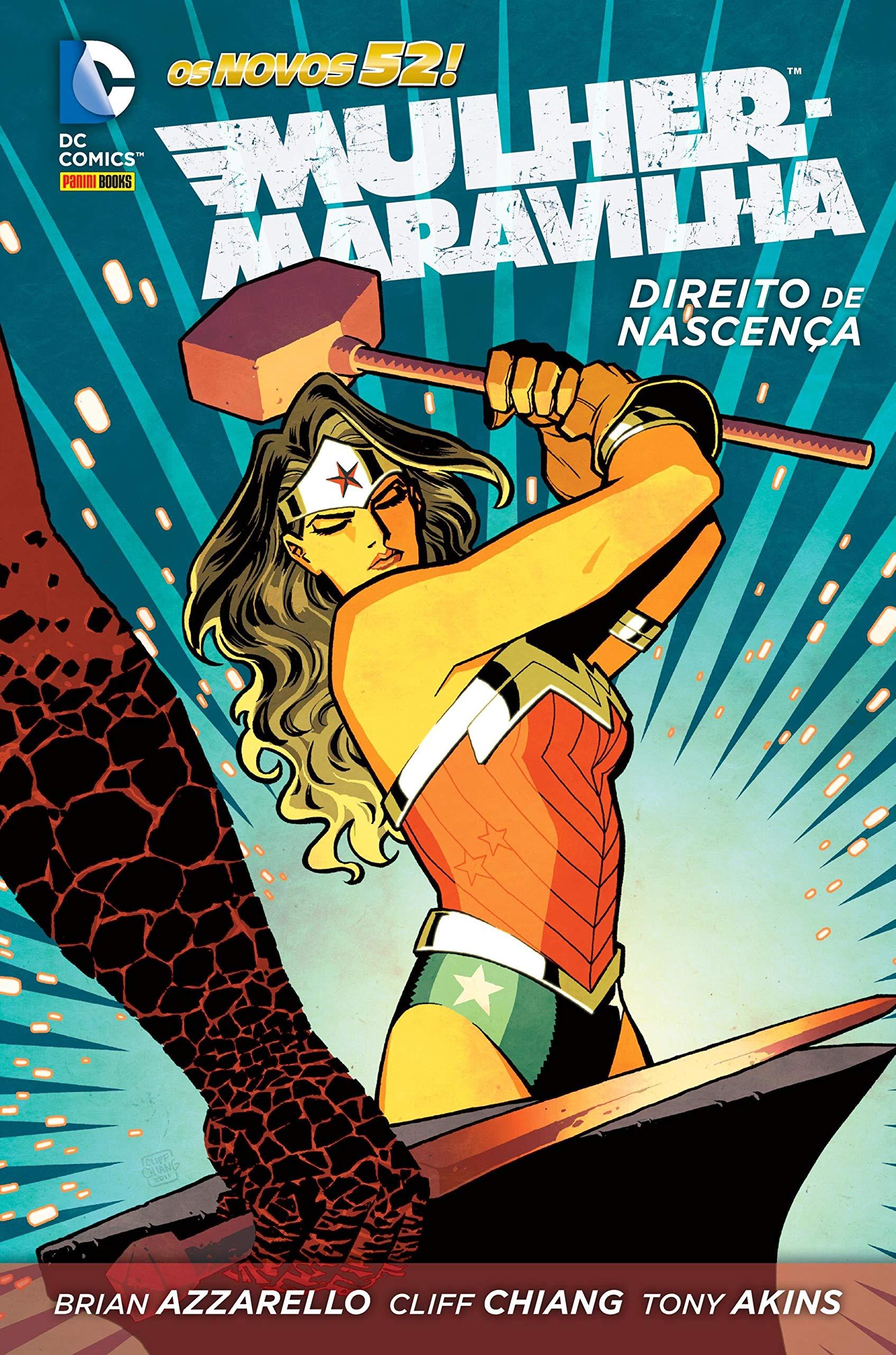 498d806ee0b842 Mulher Maravilha: Direito de Nascença: Brian Azzarello: Amazon.com ...