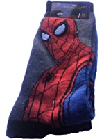 Marvel Spiderman Socks Mens 2 Pair Crew