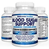 Blood Sugar Support Supplement – 20 HERBS & Multivitamin for Blood Sugar Control with Alpha Lipoic Acid & Cinnamon – 120 Pills – BioScience Nutrition