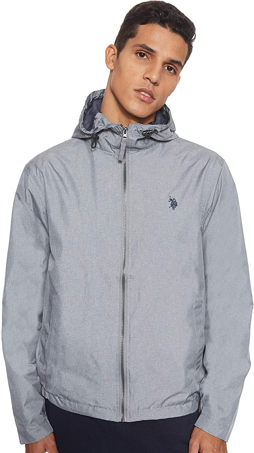 U.S. Polo Assn. Men's Jacket Windbreaker NEW before selling Spasm price Classic Solid