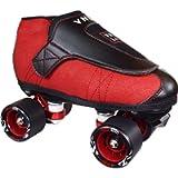 VNLA Junior Code Red Jam Skates for Men and Women - Outdoor and Indoor Unisex Roller Skates for Tricks and Rhythm…