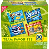 Nabisco Team Favorites Variety Pack, OREO Mini, CHIPS AHOY Mini, Teddy Grahams Honey & Barnum's Animal Crackers, 30 Snack Pac