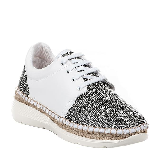 Baskets mode femme - HDC - Blanc - 160927104 - Millim LhwSHmamkP