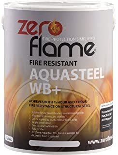 zeroflame aquasteel wb zfp400045 fire retardant coating
