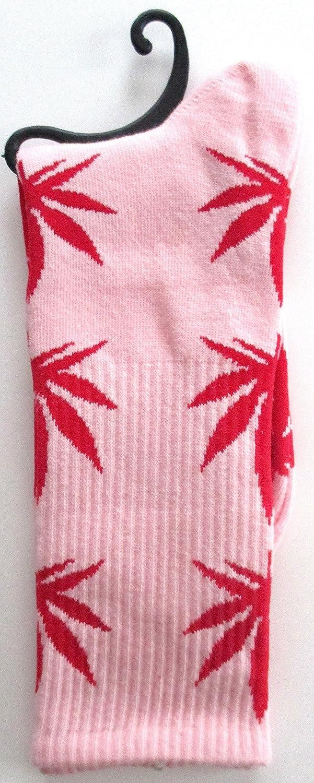 Calcetines Weed marihuana diseño de bebé de color rosa: Amazon.es: Iluminación