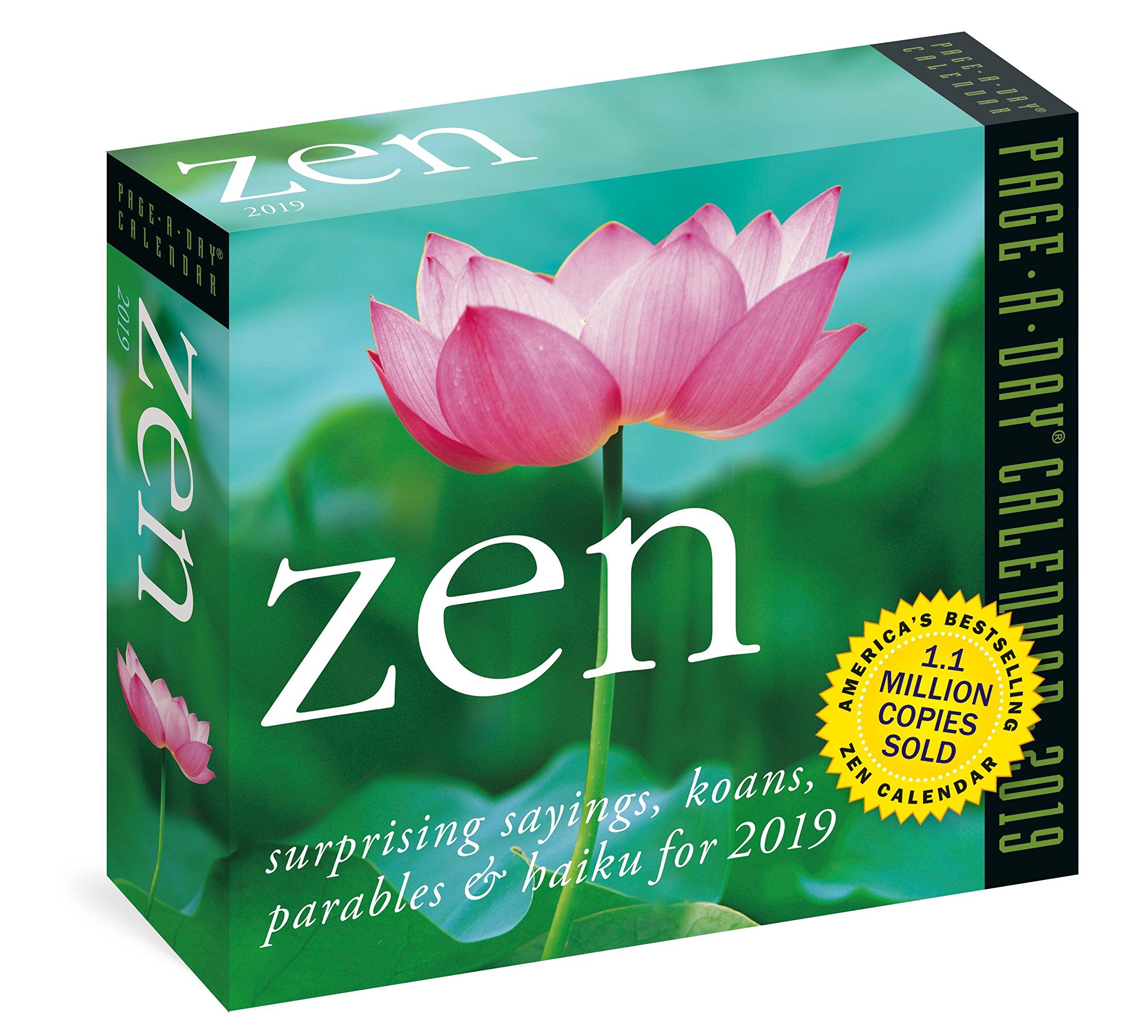 Amazon.com: Zen Page-A-Day Calendar 2019 (9781523503377 ...
