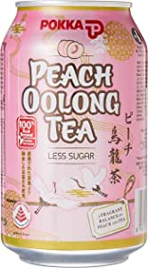 Pokka Peach Oolong Tea 300 ml  (Pack of 24)