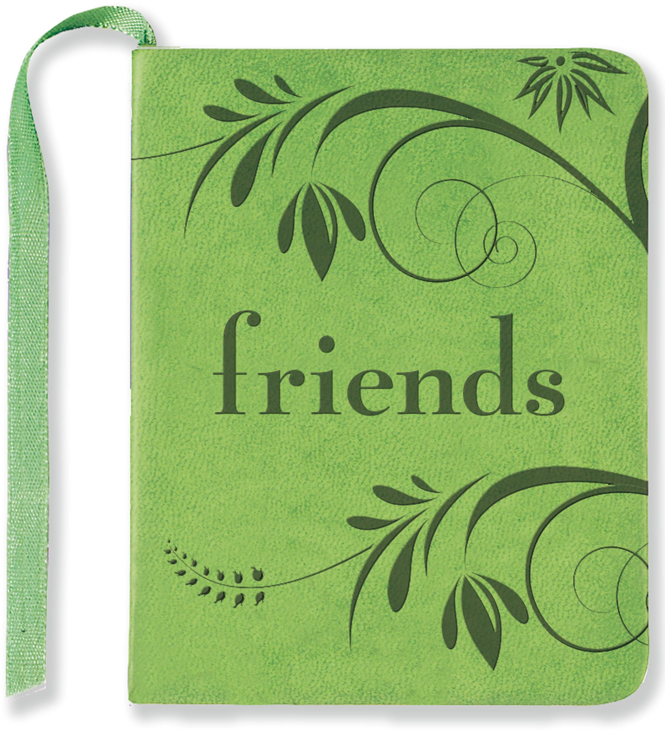 friends mini book with t card holder barbara paulding and