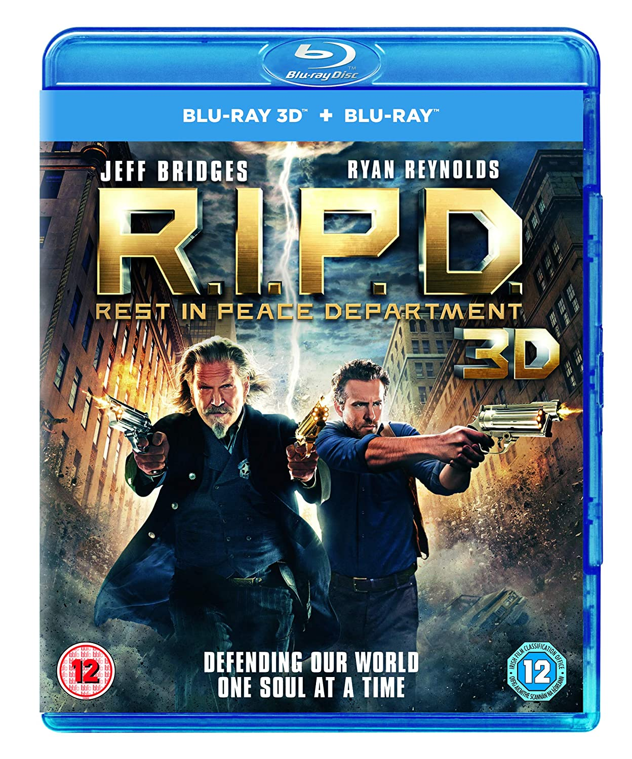 Amazon com: R I P D : Rest in Peace Department [Blu-ray 3D + Blu-ray