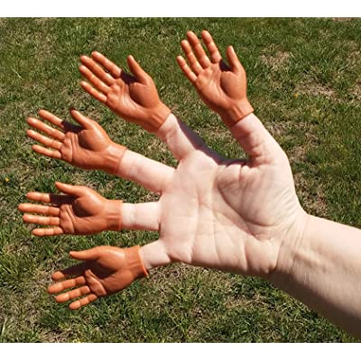 5 Finger Hands - Dark (Bulk- No Box): Toys & Games