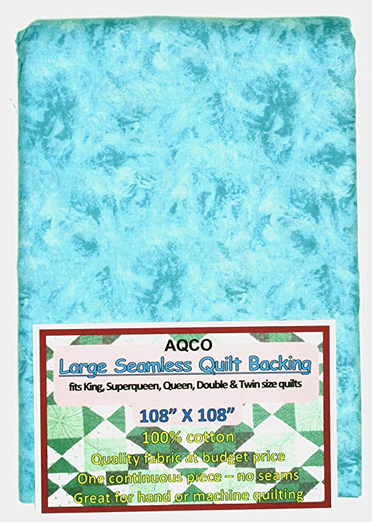 Large Seamless,Blue Quilt Backing C49594-400