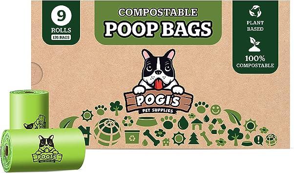 amazon sacs pogi's pour déjection canine