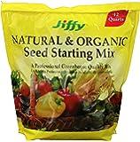 Jiffy Natural & Organic Starter Mix 12 Quart