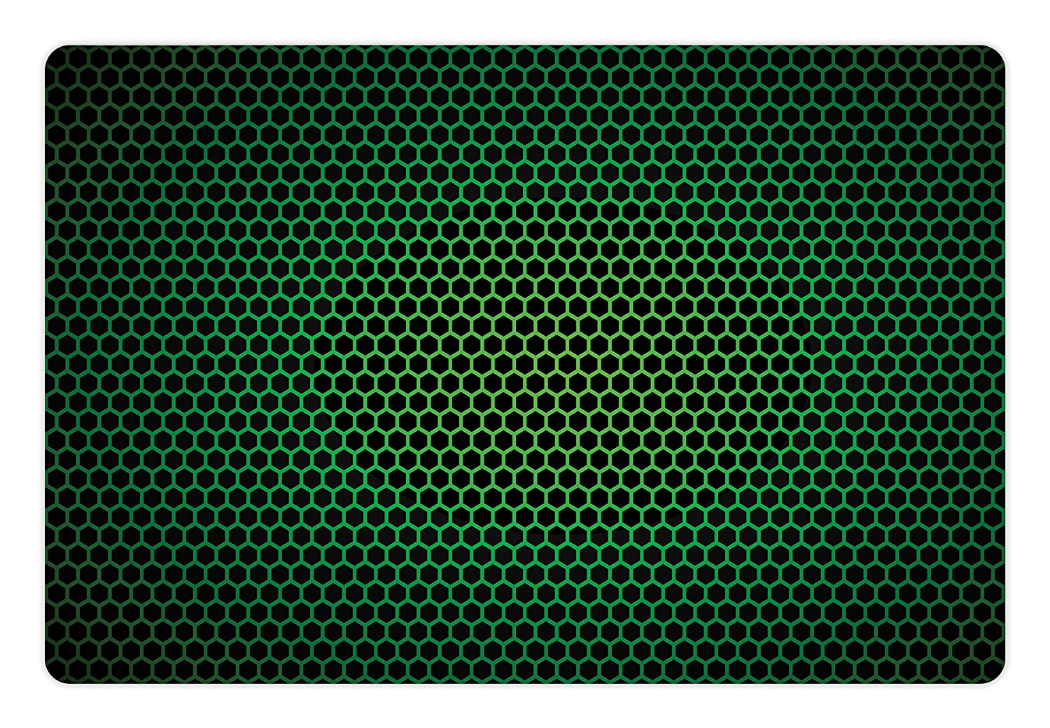 amazon com ambesonne forest green pet mat for food and water