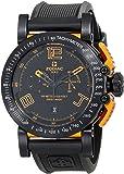 Zodiac ZMX Men's ZO8554 Racer Analog Display Swiss Quartz Black Watch
