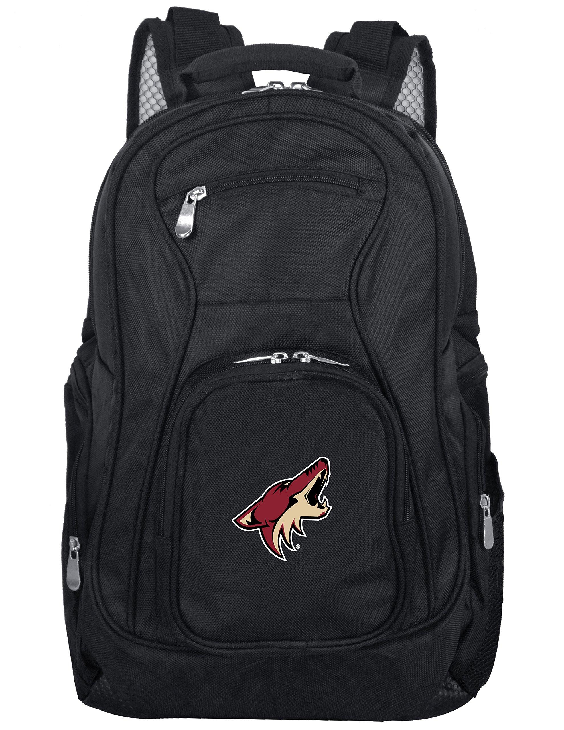 Denco NHL Arizona Coyotes Voyager Laptop Backpack, 19-inches, Black