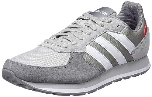 promo code 64729 fd0b8 Adidas 8K, Scarpe Running Uomo, Grigio (GretwoFtwwhtGrethr 000), 42 EU  MainApps Amazon.it Scarpe e borse