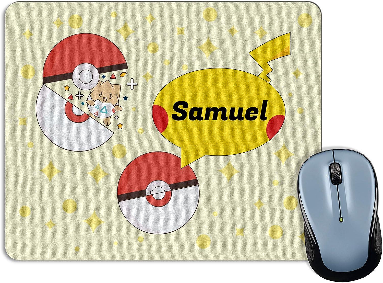 Lolapix Personalisierte Mauspad Mit Namen Personalisierte Geschenke Für Fans Verschiedene Modelle 18x22cm Rechteckig Pokemon Küche Haushalt