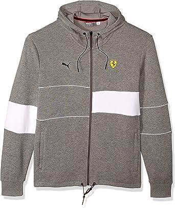 Puma Herren Scuderia Ferrari Hooded Jacket Kapuzenpulli Bekleidung