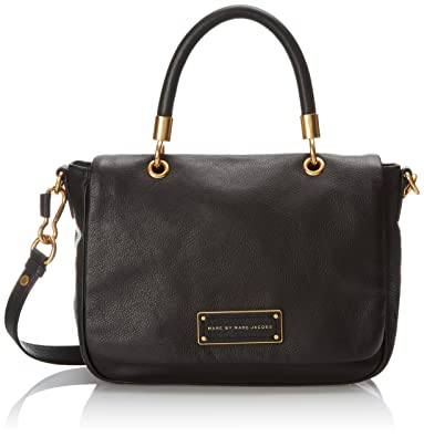 67856dae7e1 Amazon.com: Marc by Marc Jacobs Too Hot To Small Top Handle Bag, Black, One  Size: Shoes