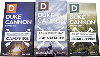 product image for Duke Cannon Supply Co. - Great American Frontier Men's Big Brick of Soap Set (3 Pack Assortment 10 oz) Superior Grade Soap Bar With Unique, Outdoor, Masculine Outdoor Scents