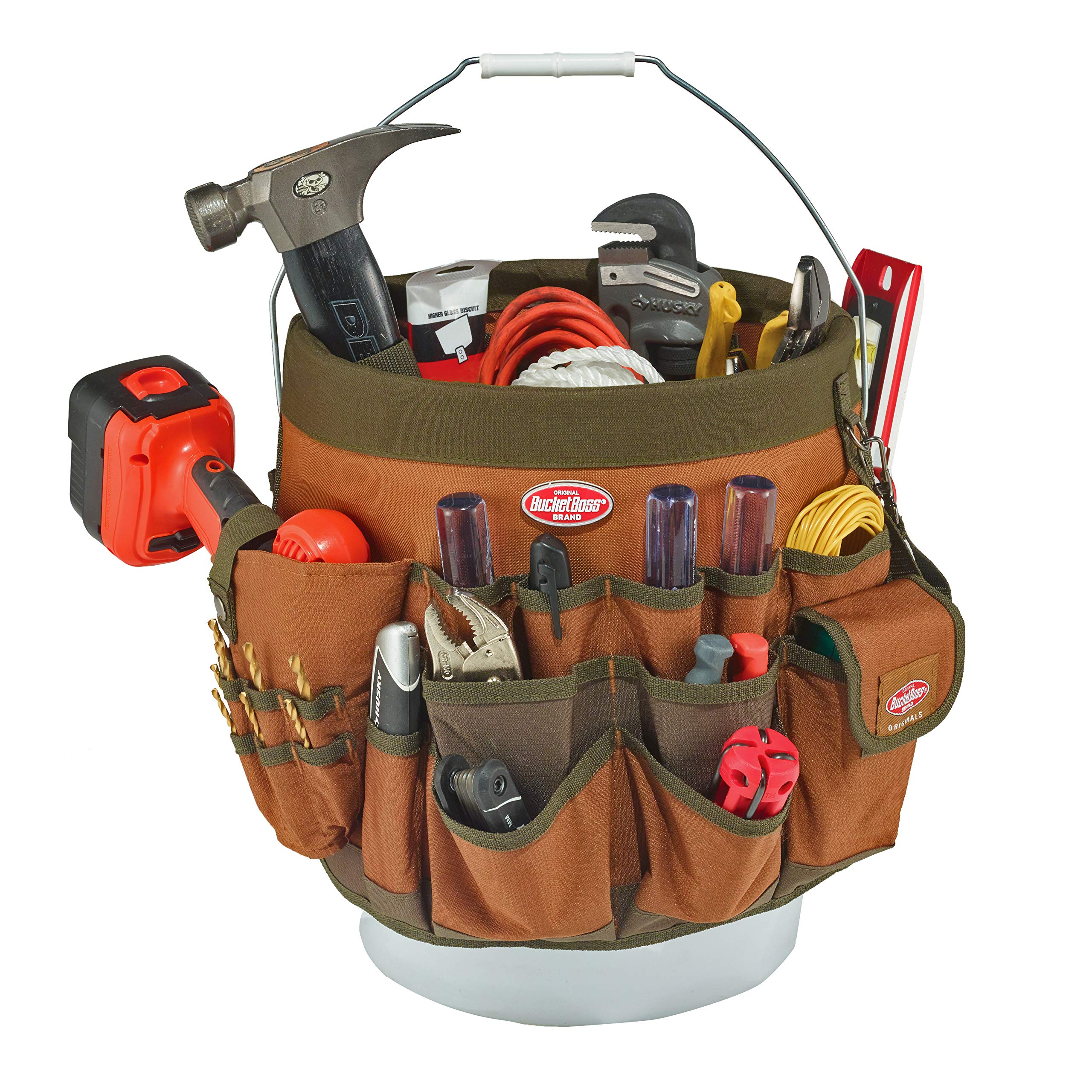 Bucket Boss 56 Bucket Tool Organizer in Brown, 10056 by Bucket Boss (Image #2)