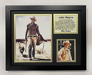 Legends Never Die John Wayne Framed Photo Collage, 11x14-Inch
