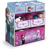 Delta Children 6-Bin Toy Storage Organizer, Disney Frozen