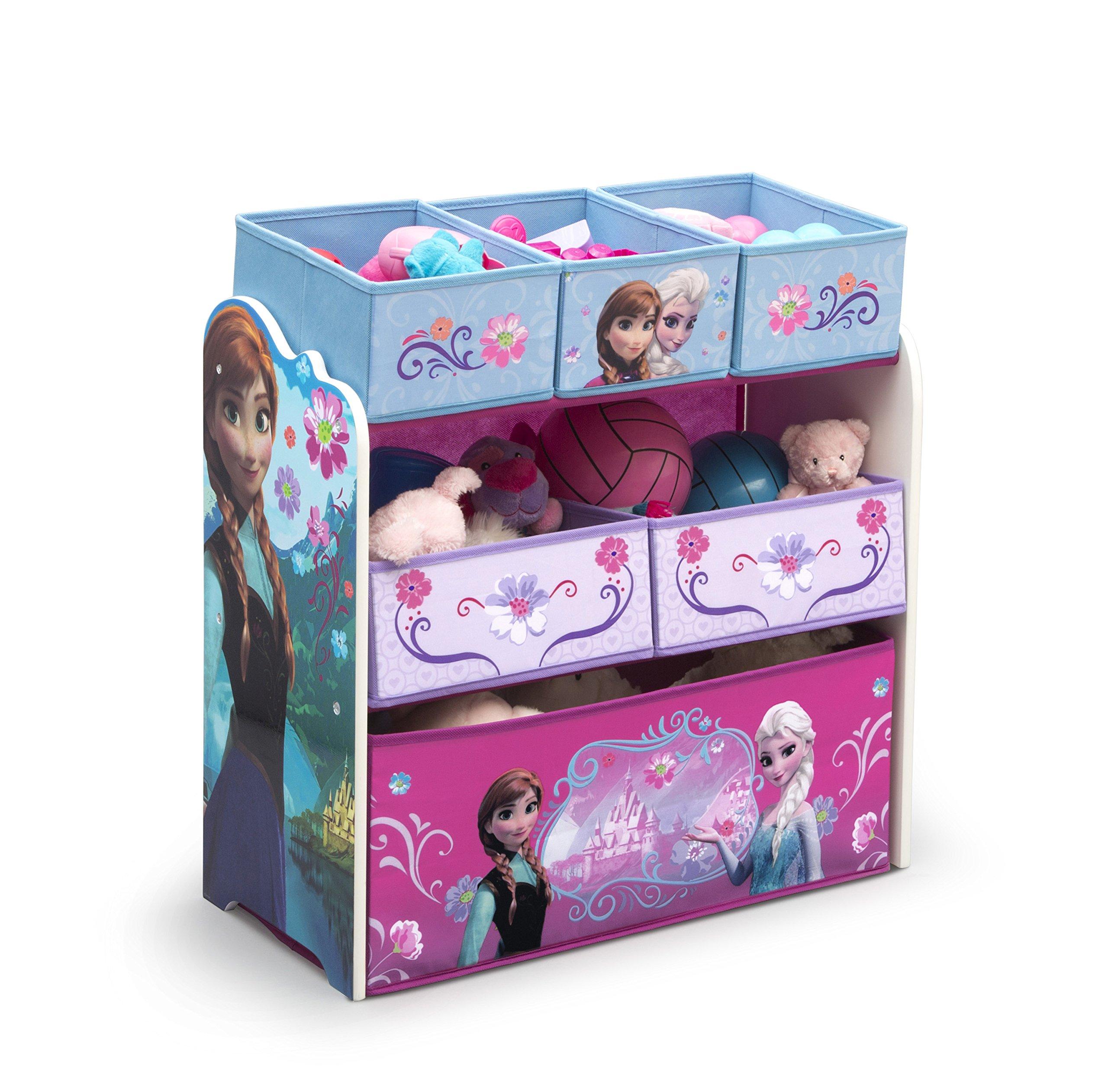 Delta Children Multi-Bin Toy Organizer, Disney Frozen by Delta Children