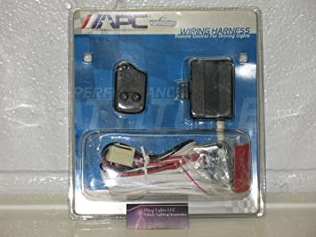 [QNCB_7524]  Amazon.com: APC 12V Remote Control Auxiliary Lamp Wiring Harness Light Up  Push Button Switch: Automotive | Apc Wiring Harness |  | Amazon.com
