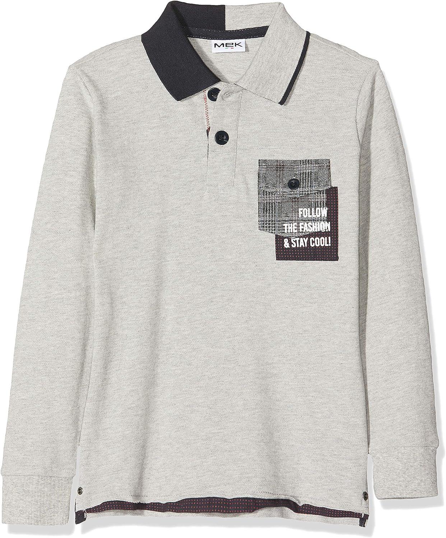 MEK Boys Polo Piquet Shirt