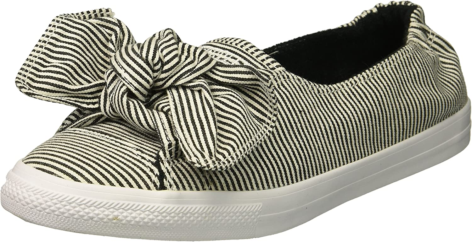 striped converse shoes