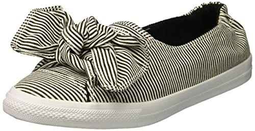 Donna Slip it Sneaker Ctas Amazon On BlackWhite Converse Knot fRFc1vF