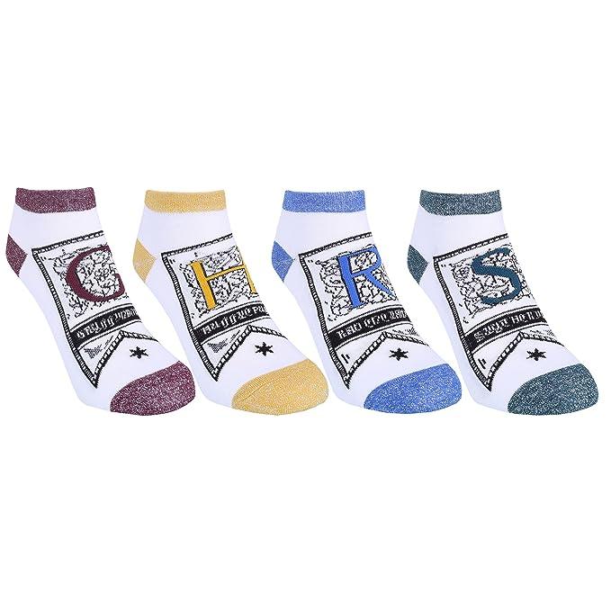 Calcetines bajos de colores claros HARRY POTTER: Amazon.es: Ropa y accesorios