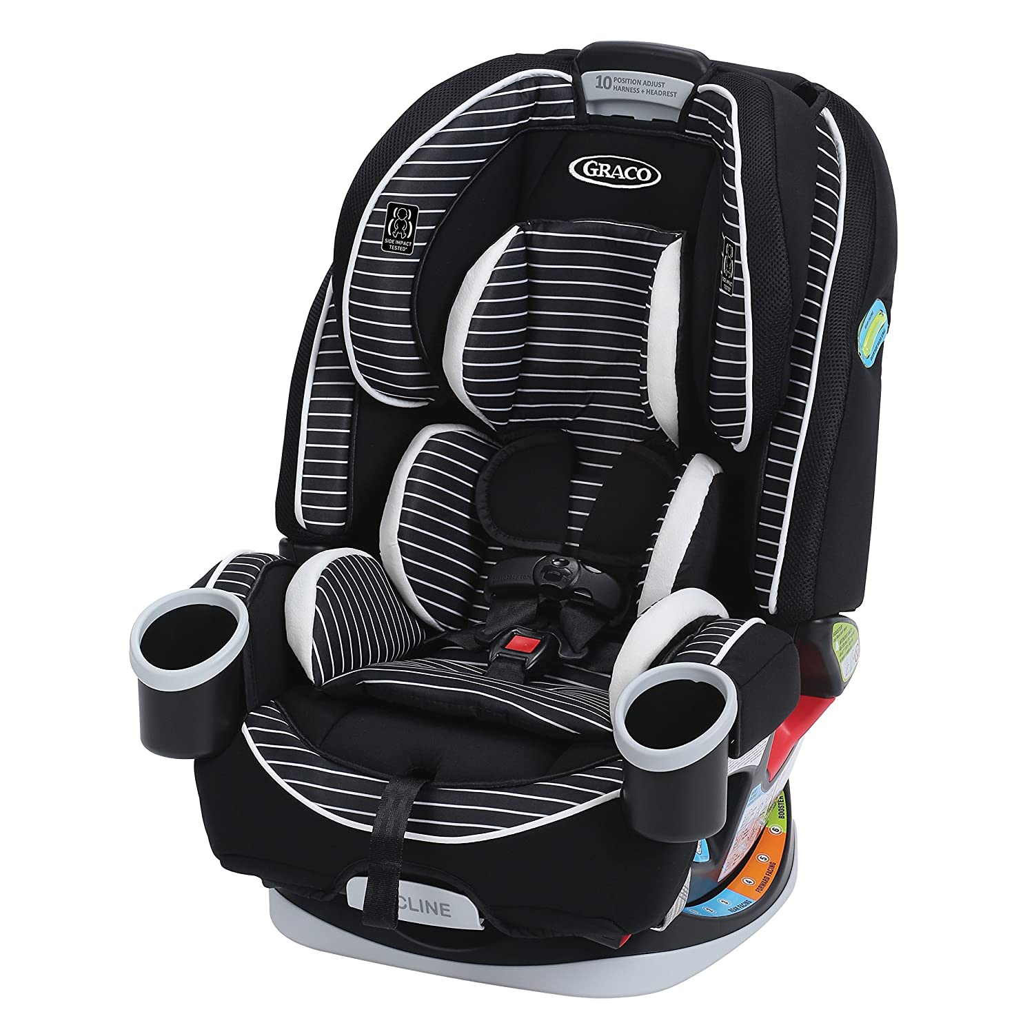 Amazon.com : Graco 4Ever 4-in-1 Convertible Car Seat, Studio, One ...