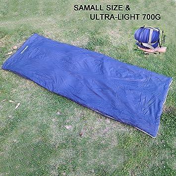 Envelope saco de dormir ultraligero Multifuntion ligero portátil resistente al agua con bolsa de compresión FUCNEN ...