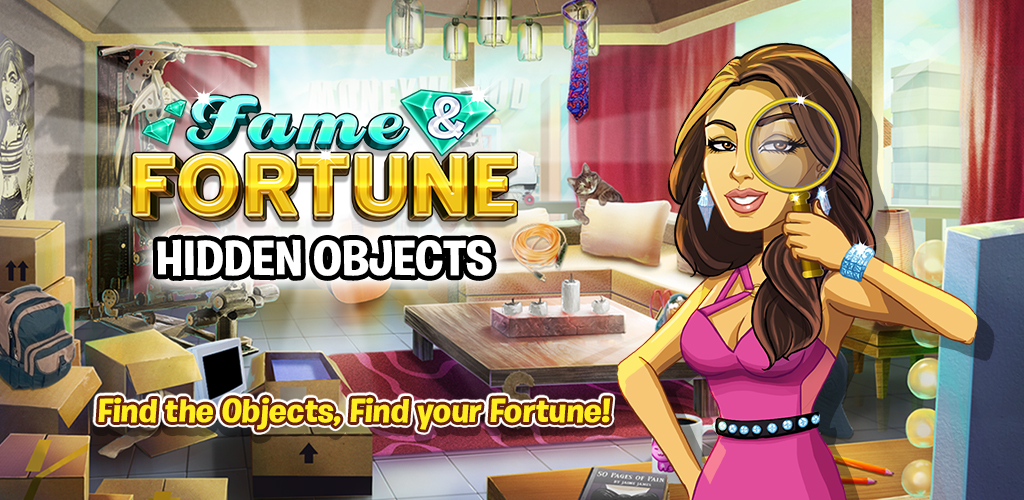 Amazon Com Fame And Fortune A Free Hidden Object Casino Game Find Objects Play Slots And Solve Puzzles Appstore For Android
