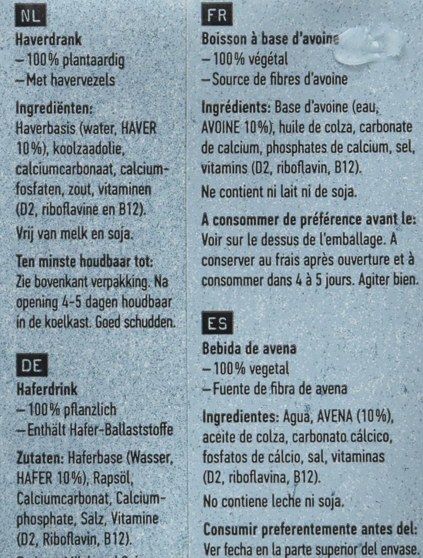 Oatly Bebida de Avena - 250 ml - [Pack de 9]: Amazon.es: Alimentación y bebidas