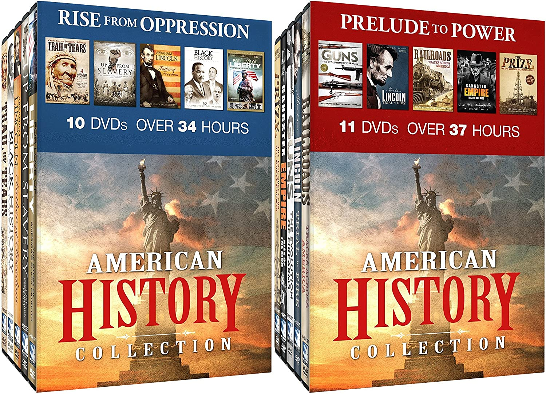 Amazon com: American History Collection 21-DVD Bundle: Rise