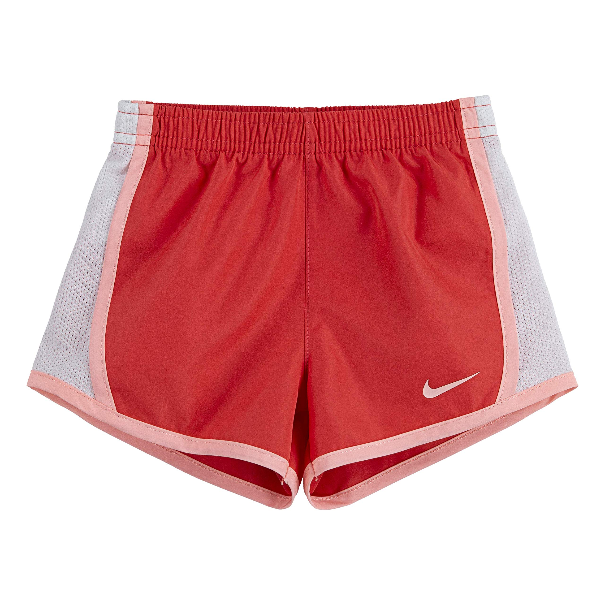NIKE Children's Apparel Girls' Toddler Dri-FIT Tempo Shorts, Ember Glow, 2T by NIKE Children's Apparel