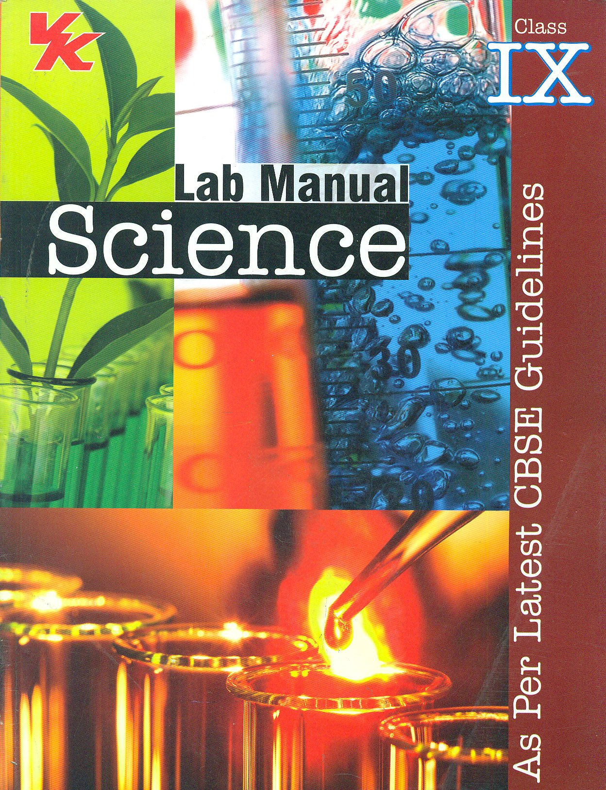 Lab Manual Science Class IX As Per Latest CBSE Guidelines: Amazon.in: P.  Ray: Books